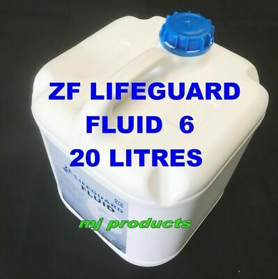 AU580 • Buy Zf Lifeguard Fluid 6 (genuine)  20l Full Synthetic Oil  Zf 6hp26 Ford / Range...