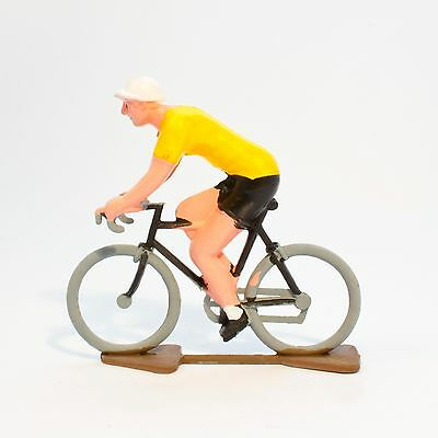 £10.94 • Buy TDF Yellow Jersey Cycling Figurine - Hand Painted In France