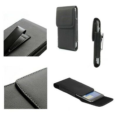SALES For ZTE TANIA V965W (2012) Case Metal Belt Clip  Synthetic Leather  Ver... • 12.90£
