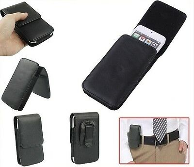 For ZTE TANIA V965W (2012) Case Belt Clip  Synthetic Leather  Vertical Premium • 12.90£