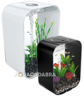 Oase BiOrb Life MCR Aquariums - 15L, 30L, 45L, 60L. Black, White & Clear • 139.99£