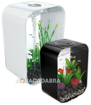 Oase BiOrb Life MCR Aquariums - 15L, 30L, 45L, 60L. Black, White & Clear • 134.99£