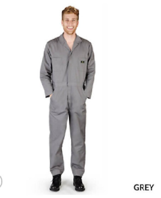 $29.99 • Buy Smiley Scrubs Long Sleeve Coverall Jumpsuit, Boilersuit Protective Work Gear 816