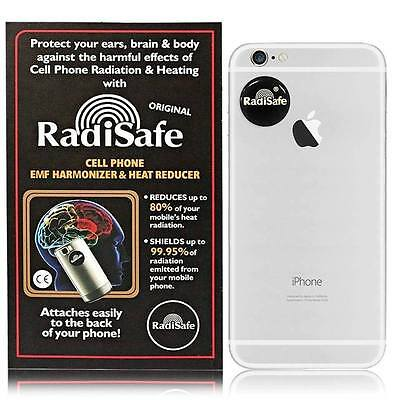 5x Radisafe Genuine Anti Radiation Phone Tablet Laptop Protect Yourself From EMF • 8.99£