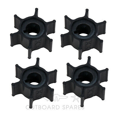 AU100.05 • Buy 4 X Yamaha Water Pump Impeller For 6, 8hp Outboard (Part # 6G1-44352-00)