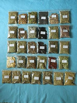 Herbs For Witchcraft/choose From 31 Herbs In 20gram, 50gram Or 100gram Packs • 4.99£