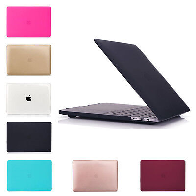 $9.59 • Buy Hard Case Cover For Macbook Pro 13 15 With/out Touch Bar A1706 A1707 2016 2017