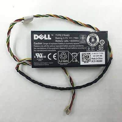 $19.22 • Buy DELL Battery AKKU Pack PERC RAID Controller 0NU209 FR463