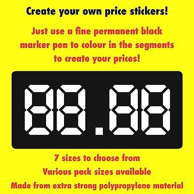 £7.13 • Buy Vending / Snack Machine Labels / Stickers - Create Your Own Prices - 7 Sizes