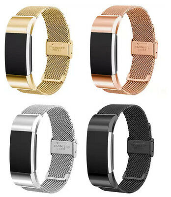 $ CDN21.33 • Buy Metal Fitbit Charge 2 HR Replacement Band Strap Secure Wristband