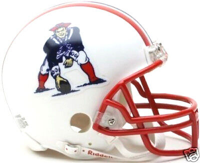 $25.95 • Buy NEW ENGLAND PATRIOTS 1990-1992 NFL Football RIDDELL Throwback MINI HELMET