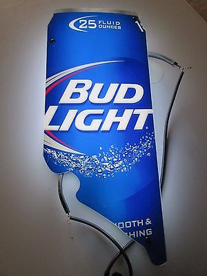 $ CDN65.16 • Buy Bud Light California Can Ice Cold Back Lit Neon Beer Sign Replacement Part HH38