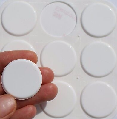 £3.75 • Buy LARGE 3M RUBBER FEET ~ 30mm Dia X 2mm Thick ~ Adhesive Furniture HEAVY DUTY Pads
