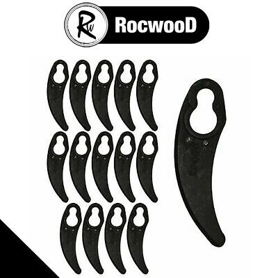 £3.95 • Buy Pack Of 15 Plastic Cutting Blades Fits Challenge 1100W Hover Lawnmower