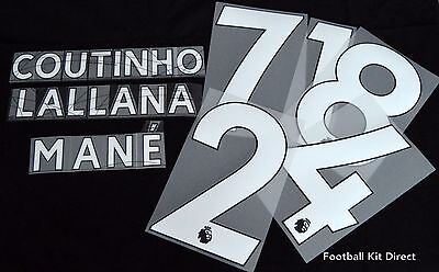 Official Liverpool  2018/19 Football Name/Number Set Player Size Issue  • 9.79£