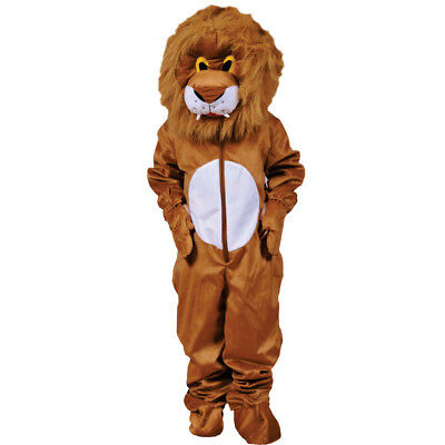 £26.99 • Buy Scary Plush Lion Hairy Head Costume By Dress Up America For Kids And Adults