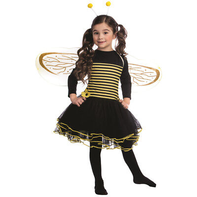 £19.99 • Buy Bumblebee Costume Set For Girls Kids Bumble Bee Dress - By Dress Up America