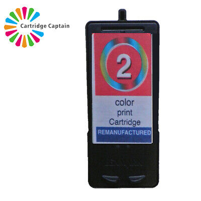 No 2 Colour Ink Cartridge For Lexmark X3480 X2580 • 8.94£
