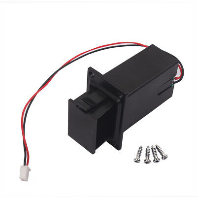 £3.46 • Buy Wired 9V Battery Holder Case Box Compartment Cover For Guitar Bass Ukulele