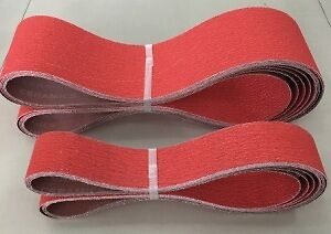 AU119.95 • Buy 6 X 100x914MM CERAMIC SANDING BELTS FOR STAINLESS STEEL AND METAL