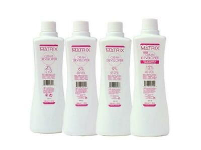 Matrix Hair Cream Developer (Peroxide) 3% 6% 9% 12% • 11.50£
