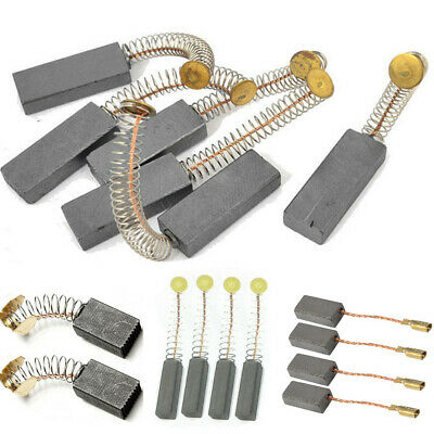 Replacement Angle Grinder Electric Motor Carbon Brushes Power Tool 2/4/6/10pcs • 0.99£