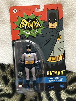 Batman Classic Series Adam West Batman   3.75  Inch  Figure Set • 30£