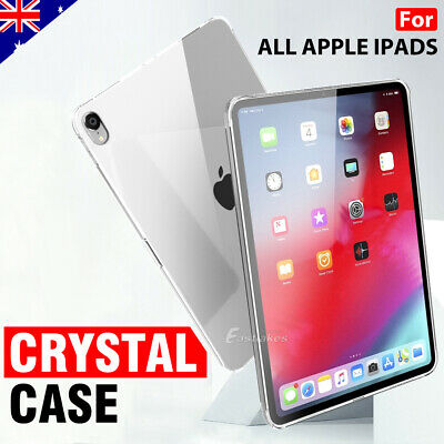 AU9.99 • Buy For Apple IPad 5th 6th IPad Air 1st 2nd 3rd 4th Clear Soft Silicone Case Cover