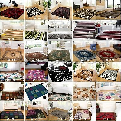 Small - Extra Large Big Soft Modern Traditional Cheap Area Floor Rugs Mats Sale • 24.79£