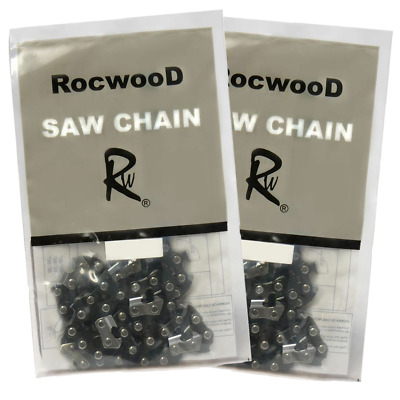 £13.97 • Buy Pack Of 2 15  Chainsaw Saw Chain Fits Husqvarna 136 137 141 142 350