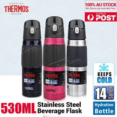 AU33.99 • Buy THERMOS Stainless Steel Vacuum Insulated Travel Hydration Bottle Flask 530ml