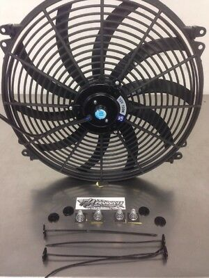 16 Inch Push Pull Electric Cooling Radiator Fan Reversible 3000cfm 18 95