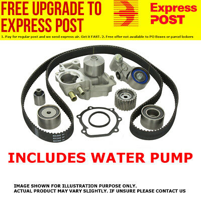 AU139.85 • Buy Timing Belt Kit & Water Pump Holden Rodeo Tf 4ze1 2.6l Sohc 88-98 -