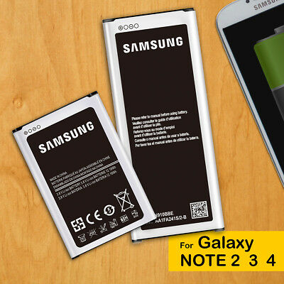 AU11.95 • Buy Brand New Genuine OEM Battery Replacement For Samsung Galaxy Note 2 3 4 N9100