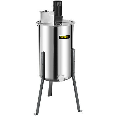 AU389.98 • Buy 3 Frame Electric Honey Extractor 120 W Motor Stainless Steel 2 Clear Lids