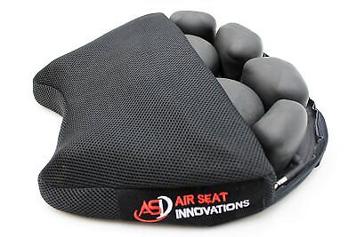 $109.99 • Buy Air Motorcycle Seat Cushion Pressure Relief Pad Large For Cruiser Touring Saddle