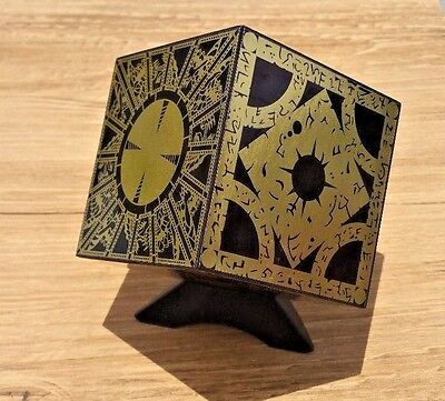 Hellraiser Puzzle Box Foil Face Cube Lament Configuration W/ Stand FULL SIZE • 44.21£