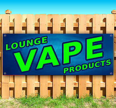 $ CDN72.36 • Buy VAPE LOUNGE PRODUCTS Advertising Vinyl Banner Flag Sign 15  18  24  40  52