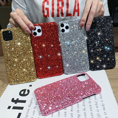 AU4.99 • Buy For IPhone 11 Pro Max Xs XR X 8 6 7 Girl's Gift Bling Sparkle Glitter Case Cover