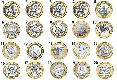 Coins £2 Rare Two Pound Coins 1986-2020 N. Ireland,olympic Austin,breast Cancer • 7.60£