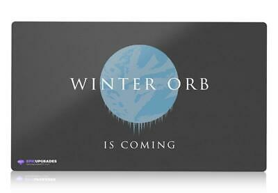 Winter Orb - Stax Magic The Gathering Playmat Custom MTG Funny Mat EDH Commander • 18.99£