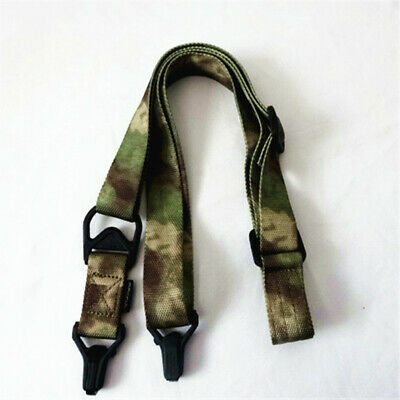$ CDN11.42 • Buy Tactical Quick Release 2 Dual-Point Gun Rifle Sling Protective Rope