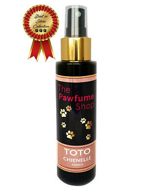Toto Chienelle Pooch Designer Dog Cologne Fragrances Scented Like Real Perfume • 8.99£