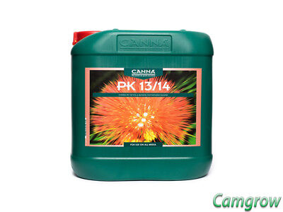 CANNA  Pk 13/14 - Flowering Weight Gainer Bud Booster 5L Hydroponics • 52.49£