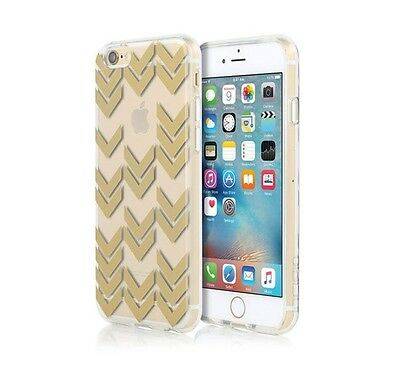 AU8 • Buy Incipio Design Series Shell Case For IPhone 6/6S - Clear With Gold Chevrons