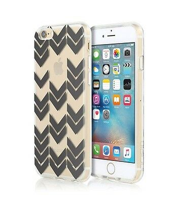 AU8 • Buy Incipio Design Series Shell Case For IPhone 6/6S - Clear With Black Chevrons