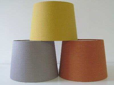 £44.45 • Buy NEW French Empire Tapered Linen Lampshade Lightshade Choice Of Colours Available