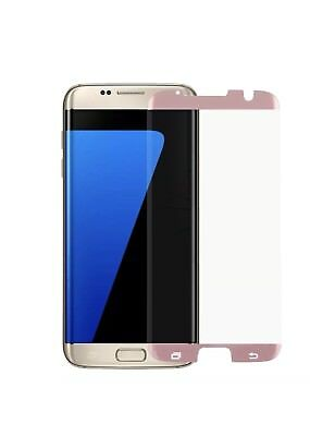 $ CDN5.42 • Buy Full Curved ROSE GOLD Tempered Glass Screen Protector For Samsung Galaxy S7 Edge