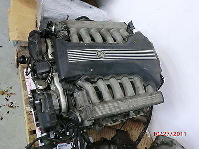 AU1047.39 • Buy (1999-2001) BMW E38 V12 ENGINE MOTOR 750iL 750 5.4L ((145,512 MILES))