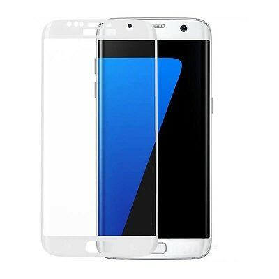 $ CDN4.30 • Buy 3D Curved White Tempered Glass Screen Protector For Samsung Galaxy S7 Edge